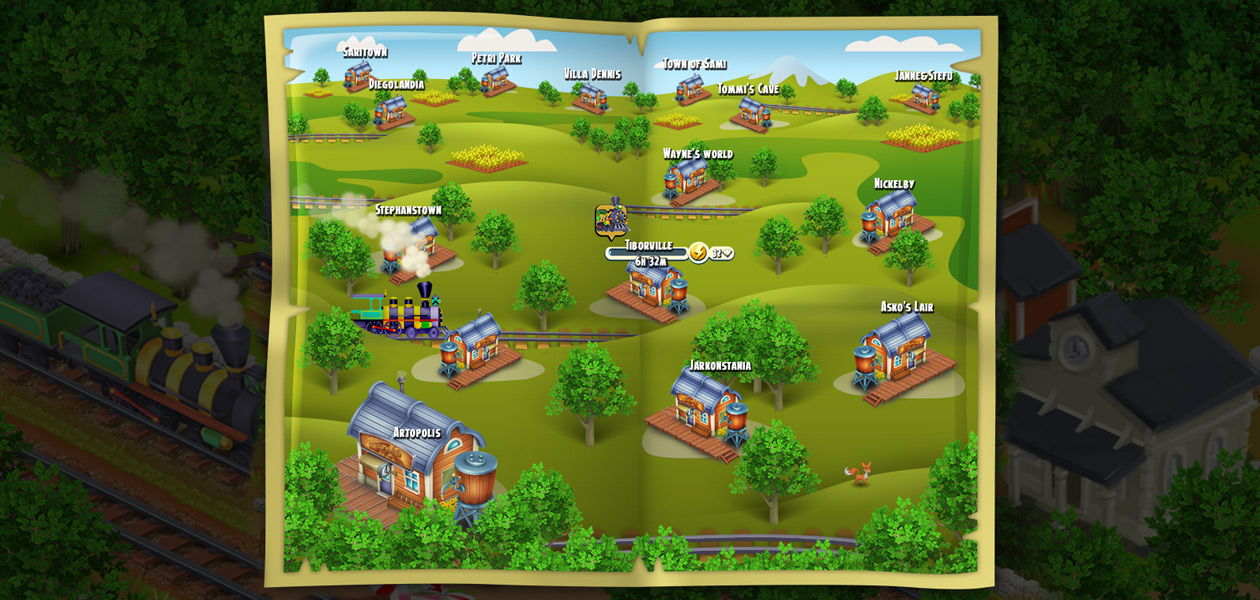 Hay Day building concepts.
