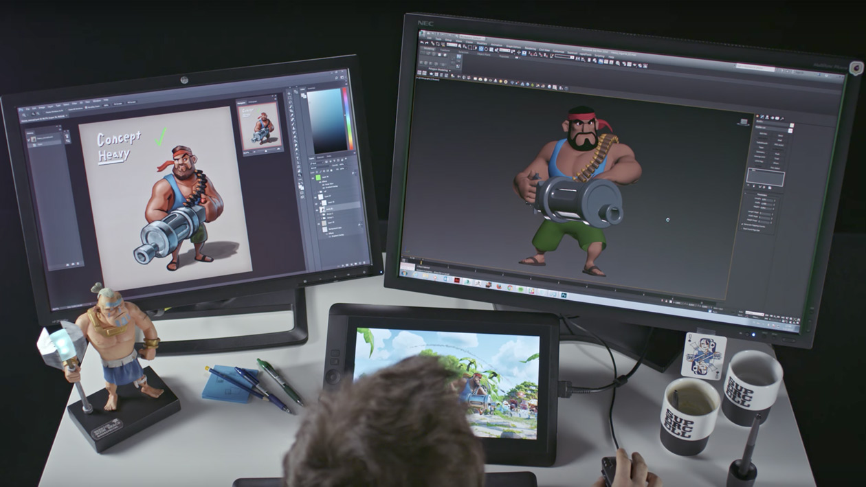 Boom Beach Making of: The Heavy