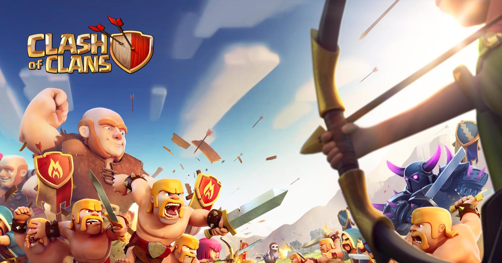 Znalezione obrazy dla zapytania clash of clans