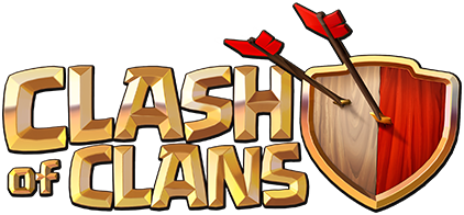 Clash of Clans logo white background