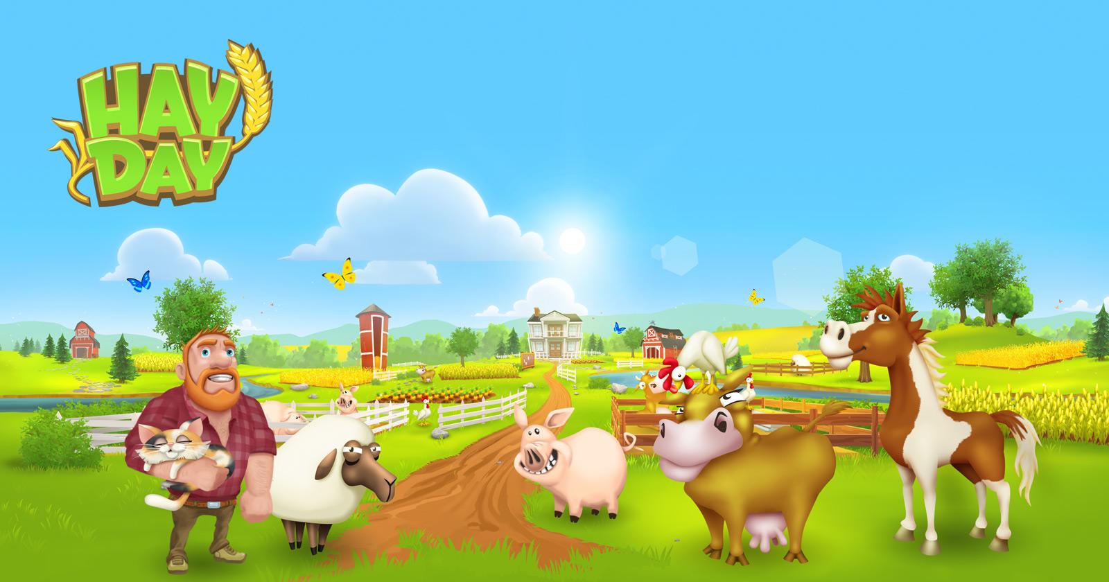 لعبة المزرعة هاي داي