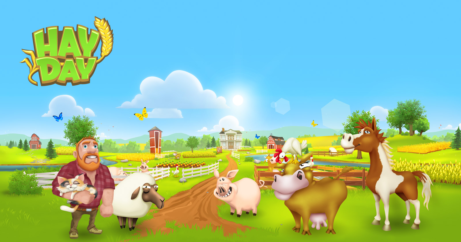 لعبة هاي داي تنزيل سريع - Hay Day