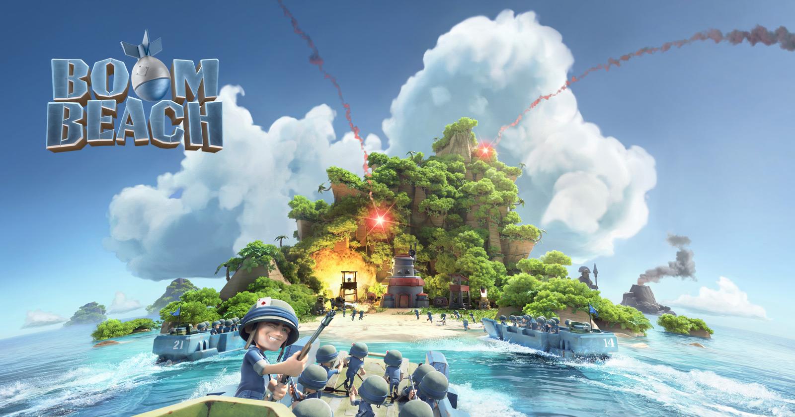 boom beach offline mod apk download