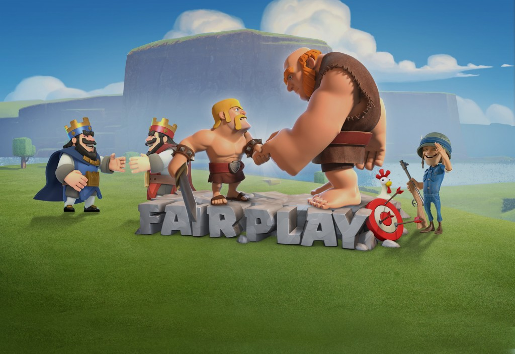 Safe and Fair Play × Supercell
