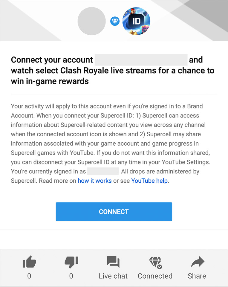 Youtube Drops Supercell