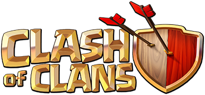 Clash of Clans logo transparent background
