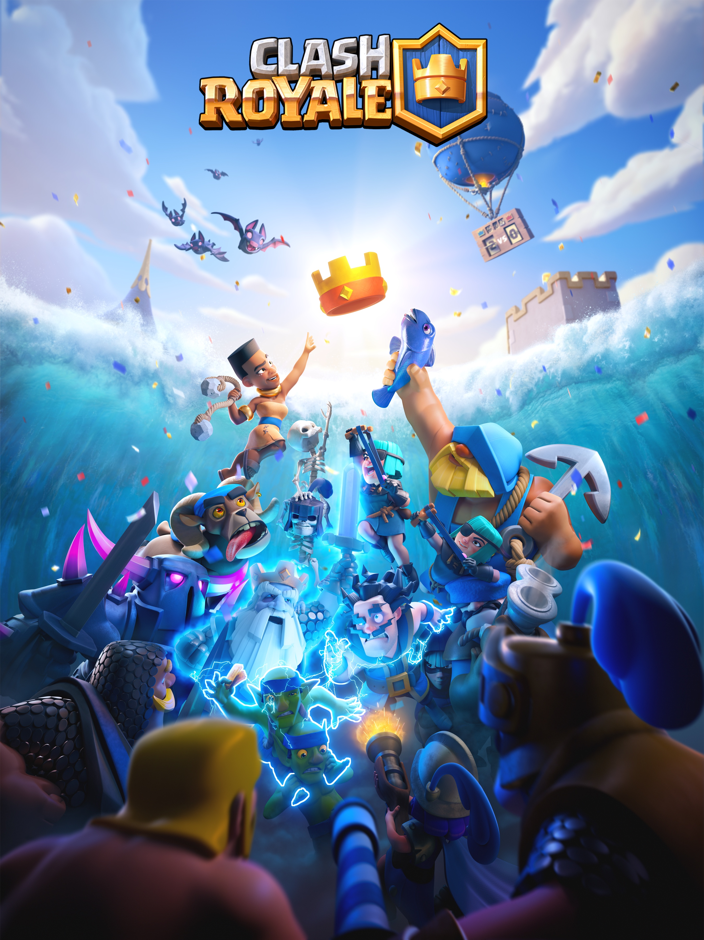 Clash Royale The Flood banner