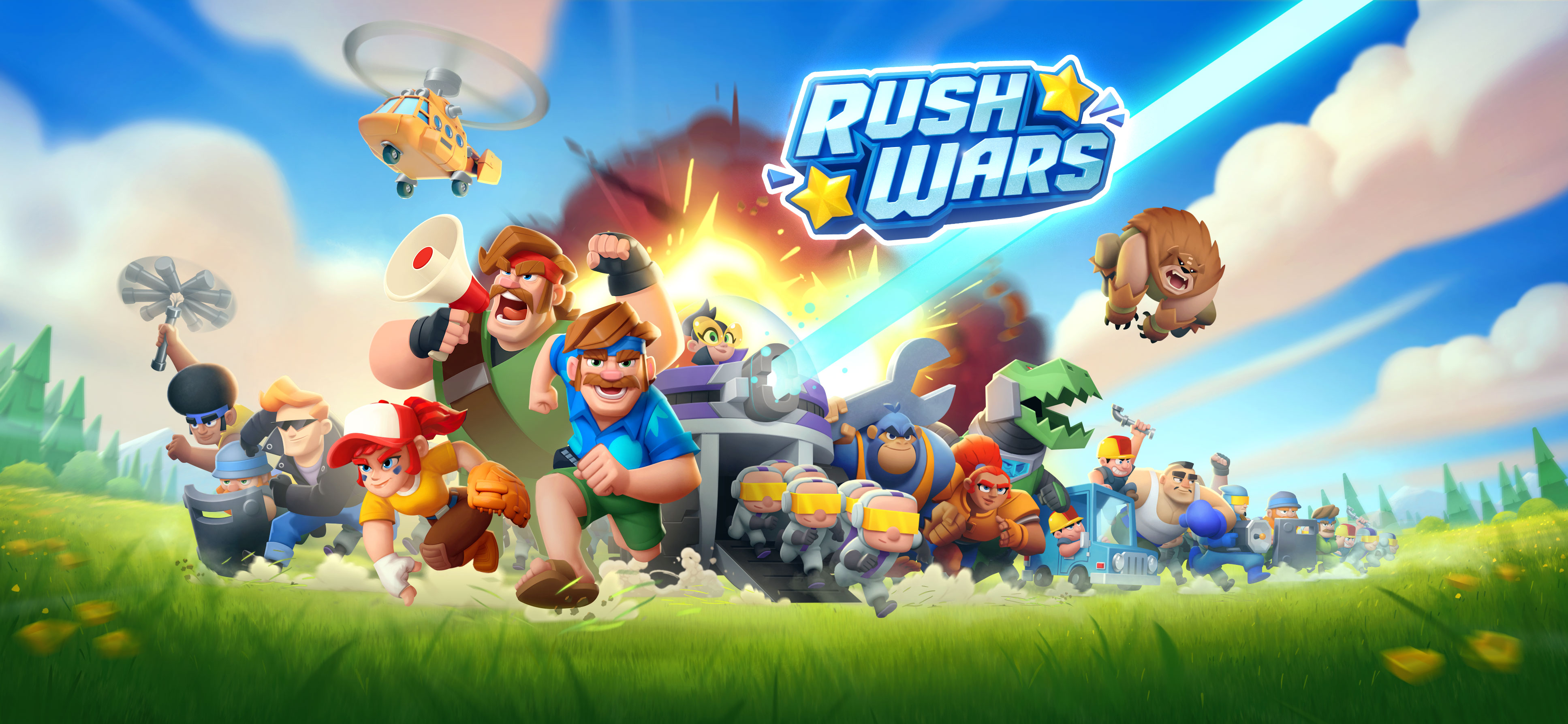Welcome to Rush Wars! × Supercell