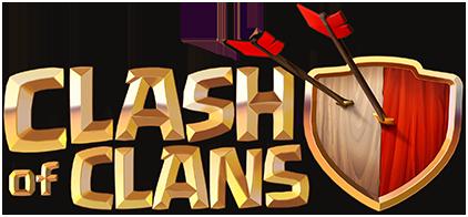 Clash of Clans logo transparent background