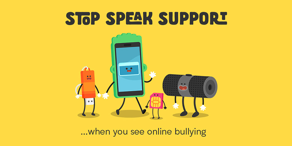 Stop, Speak, Support