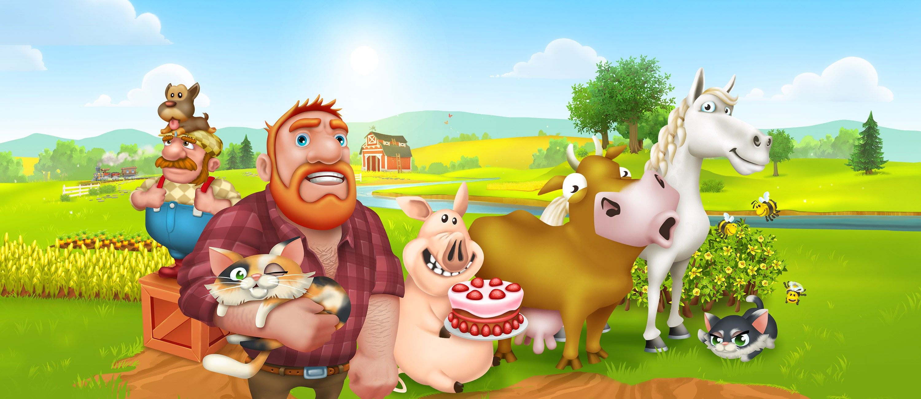Hay Day – A Relaxing Game