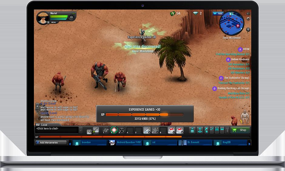 Gunshine screenshot
