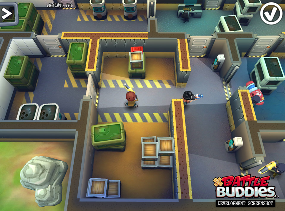 Battle Buddies was one of the games that got axed.