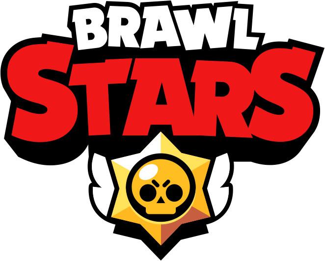Brawl Stars logo white background