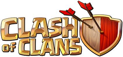 Clash of Clans logo white background