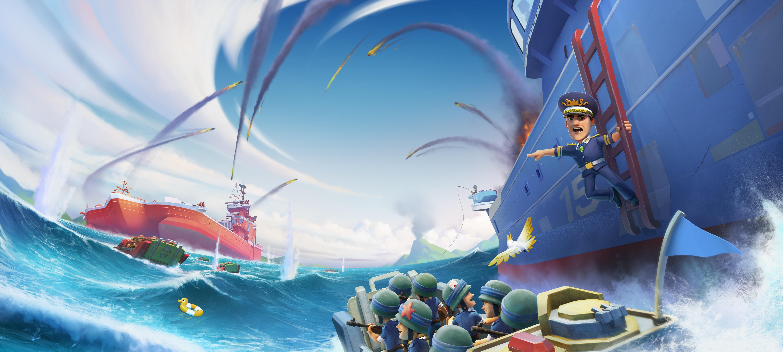 Boom Beach Warships banner