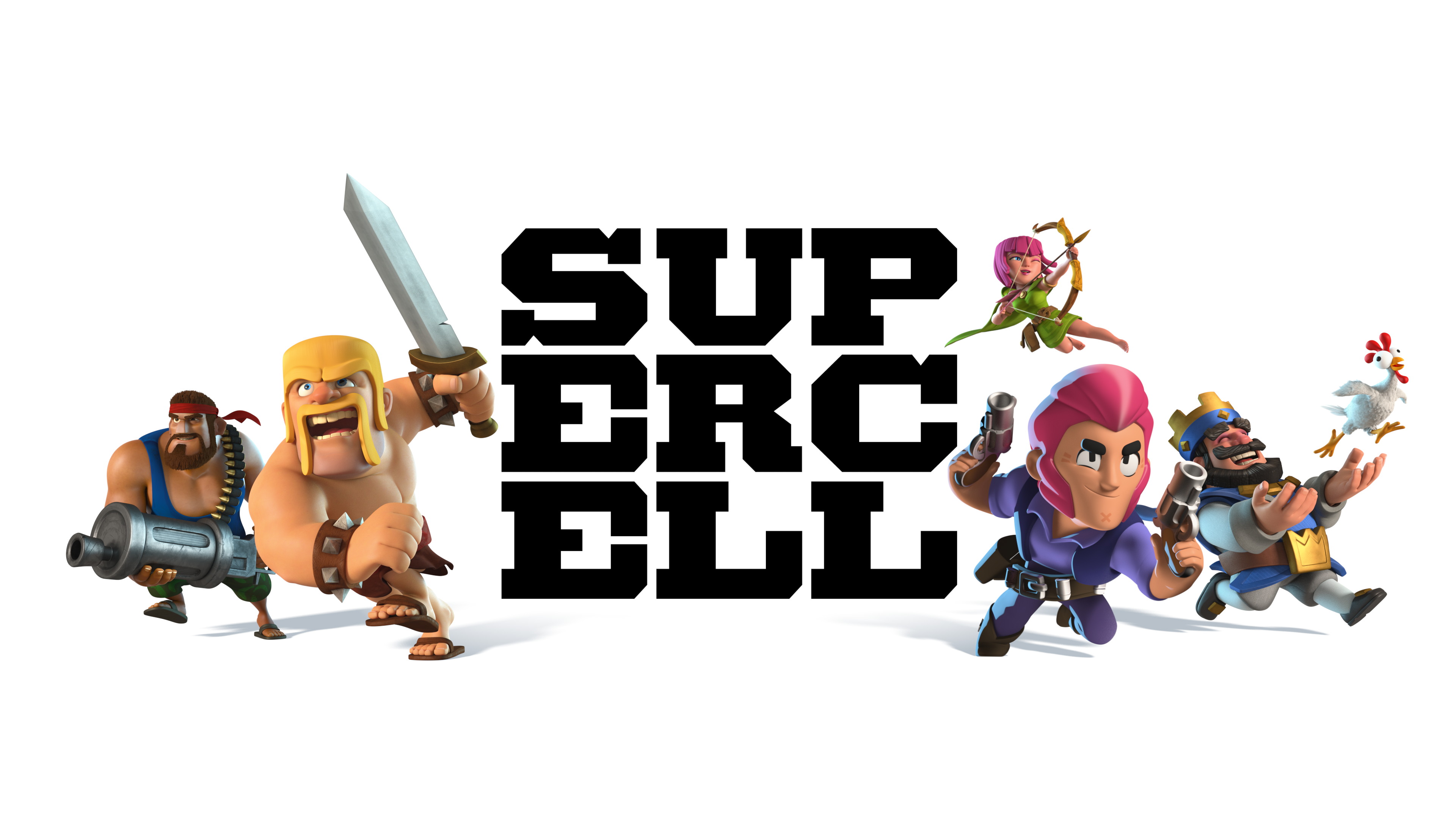 Supercell Characters Logo banner